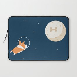 Fly to the moon _ navy blue version Laptop Sleeve