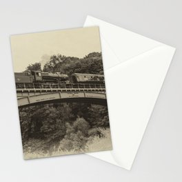 Flying Pig at Victoria Bridge  Stationery Cards