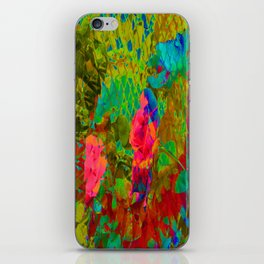 Partyin' in the garden... iPhone Skin