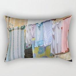 LAUNDRY DAY - Catania - Sicily Rectangular Pillow