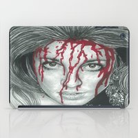 kris tate iPad Cases featuring Sharon Tate  by Jimmy Lee
