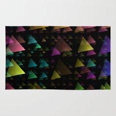 Drifting Triangles Rug
