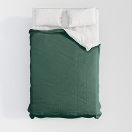FOREST BIOME dark solid color  Comforters