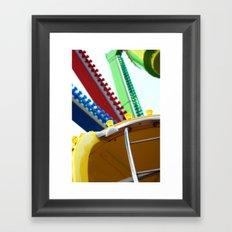 Fair-ground Framed Art Print