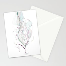 be flower Stationery Cards