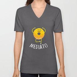 Mediato - Buddha Buddhism Meditation Unisex V-Neck
