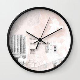 Foliage of Stars: City Stone Wall Clock
