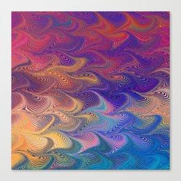 MARBLING-PATTERN-1 Canvas Print