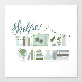 Shelfie Canvas Print