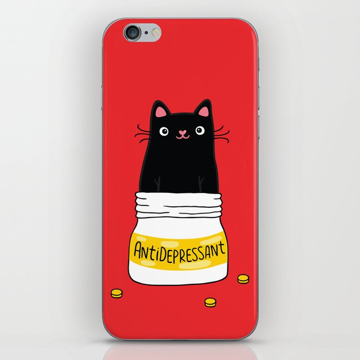 FUR ANTIDEPRESSANT iPhone Skin
