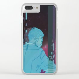 Handsome Jack. Clear iPhone Case