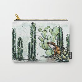 Cactus Horizontal Carry-All Pouch