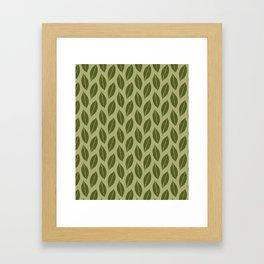 ever green foliage Framed Art Print