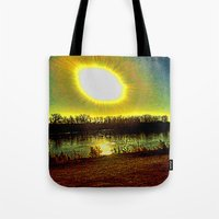 madonna Tote Bags featuring The Madonna  by Rachel Ernst