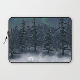 Wintry Forest Laptop Sleeve