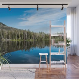 Yellowstone Reflective Lake Wall Mural