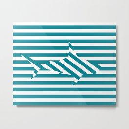 Shark 2 Metal Print