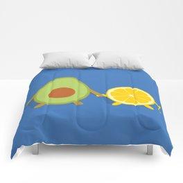 Avocado & Lemon Comforters