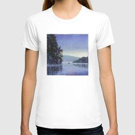 rocky cliff T-shirt