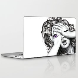 See No Evil - Amethyst  Laptop & iPad Skin