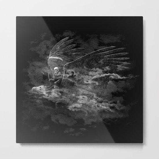 Reaper's Ride Metal Print