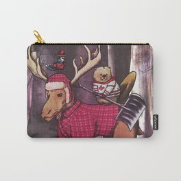 Most Canadian Picture Carry-All Pouch