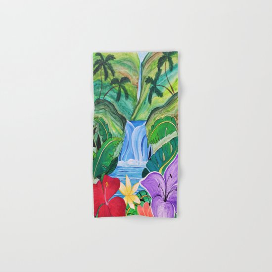 Tropical Escape Hand & Bath Towel
