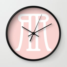 RnR Peachy Wall Clock