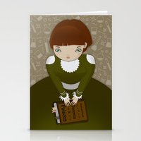 teacher Stationery Cards featuring Venom Teacher by Loop in the mind