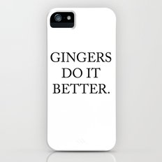 Gingers Do It Better iPhone (5, 5s) Slim Case