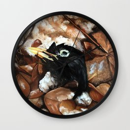 Head of a bird Wall Clock