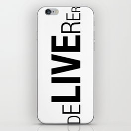 Deliverer iPhone Skin