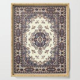 V8 Moroccan Epic Carpet Texture Design. Serving Tray