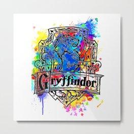 Gryffindor splash Metal Print