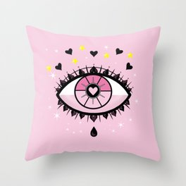 I SEE LOVE Throw Pillow
