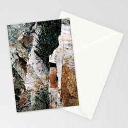 Rock Face Near Windamere Dam Stationery Cards
