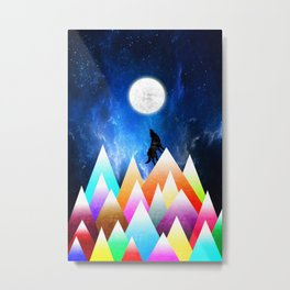 JOY NIGHT Metal Print
