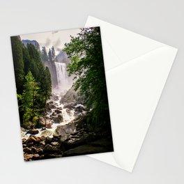 Yosemite Waterfall Stationery Cards