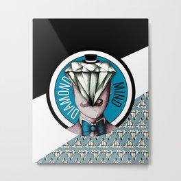 Diamond Mind Metal Print