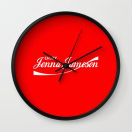 Enjoy Jenna Jameson Wall Clock