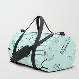 pattern medicine seamless medical Duffle Bag
