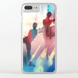 dancing Clear iPhone Case