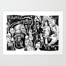 sons of anarchy Art Print