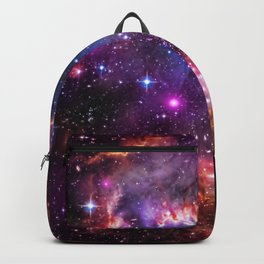 Small Magellanic Cloud's Starry Wingtip Backpack