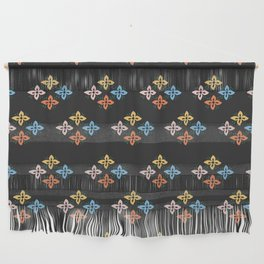 Las Flores 02 (Patterns Please) Wall Hanging