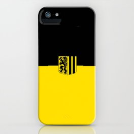 Flag of Dresden iPhone Case