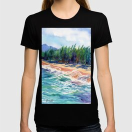 Kauai North Shore Beach 2 T-shirt