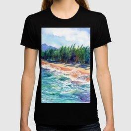 Kauai North Shore Beach 2 T-shirt