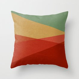 Stripe IX Modern Century Throw Pillow