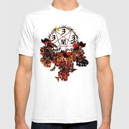 half evil pentagram T-shirt